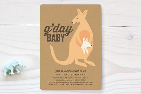 G'Day Baby Baby Shower Invitations