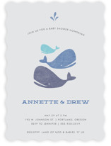 Splish Splash Baby Shower Invitations