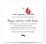 Little Sailor Baby Shower Invitations