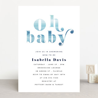 fresh shower Baby Shower Invitations