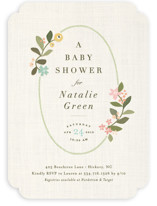 Novel Tradition Baby Shower Invitations