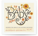 It's Fall Baby Baby Shower Invitations