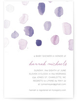 Splash of Colour Baby Shower Invitations