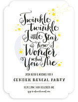 Twinkle Baby Shower Invitations