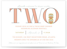 Whooo's Due With Two by Shari Margolin