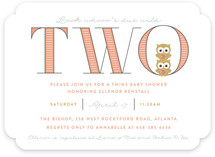 Whooo's Due With Two