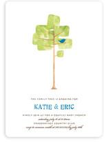 Family Tree Baby Shower Invitations