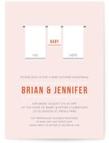 Tiny Towel Baby Shower Invitations
