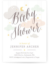 Shower Mobile Baby Shower Invitations