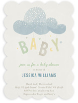 Cloud Charm Baby Shower Invitations