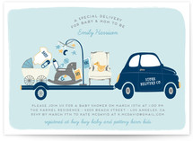 A Special Delivery Baby Shower Invitations