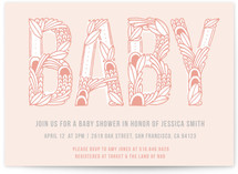 Ohh Baby Baby Shower Invitations