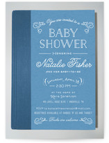 By The Book Baby Shower Invitations