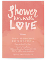 Shower with Love by June Letters Studio