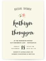 Beginning Bridal Shower Invitations