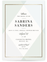 Creme Brulee Bridal Shower Invitations