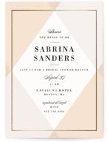Creme Brulee Bridal Shower Invitations