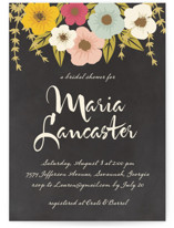 Plentiful Blossoms Bridal Shower Invitations