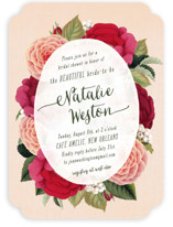 Vintage Botanicals Bridal Shower Invitations