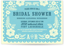 Papel Picado Bridal Shower Invitations