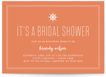 Down by the Sea Bridal Shower Invitations