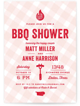 We Do BBQ Bridal Shower Invitations
