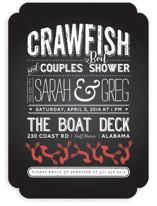 Crawfish & Couples Bridal Shower Invitations