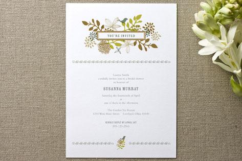 Fling Bridal Shower Invitations