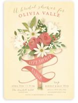 Bridal Bouquet Bridal Shower Invitations