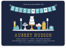 Sweet Treats Bridal Shower Invitations