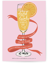 Mimosa Brunch Bridal Shower Invitations