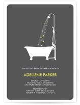 Showering Hearts Bridal Shower Invitations