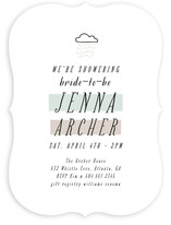 Rainshower Bridal Shower Invitations