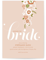 Shower of Flowers Bridal Shower Invitations