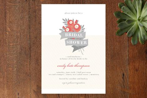 Posie-tively Pretty Bridal Shower Invitations
