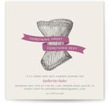 Vintage Corset Bridal Shower Invitations