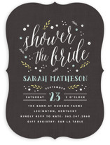 Rustic Charm Bridal Shower Invitations