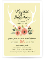 Woodland Fairytale Bridal Shower Invitations