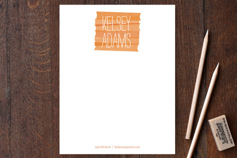 Wash Business Stationery