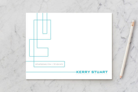 Technological Mark Business Stationery