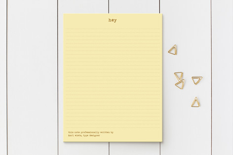 Knock It Business Stationery