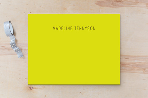 Neon Business Stationery