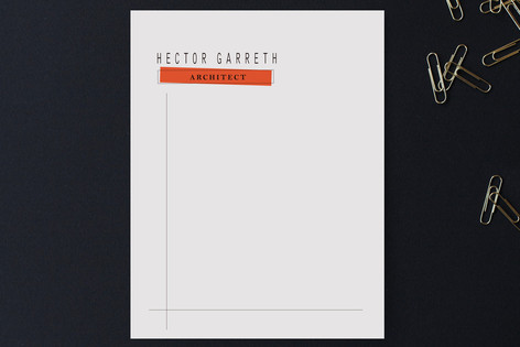 Structured Business Stationery