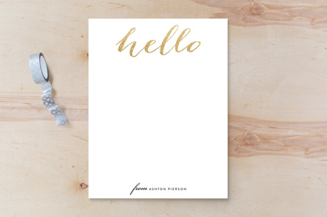 Hello Friend Business Stationery