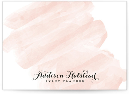 Pink Wash Business Stationery Cards