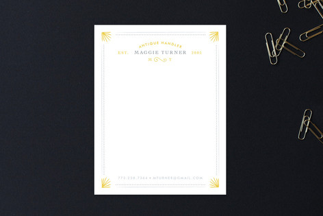 Chic & Antique Business Stationery