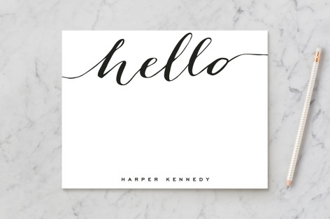 Chic Black and Gold Business Stationery