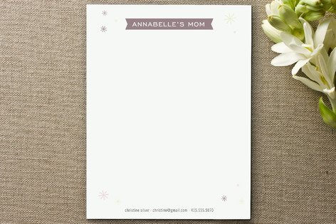 Pretty Playdate Business Stationery