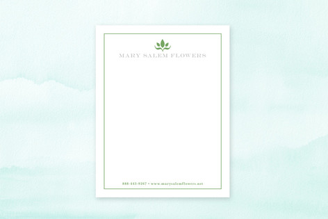 Abstract Bloom Business Stationery