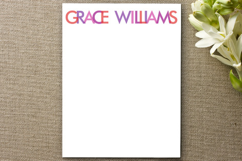 Bright Numbers Business Stationery